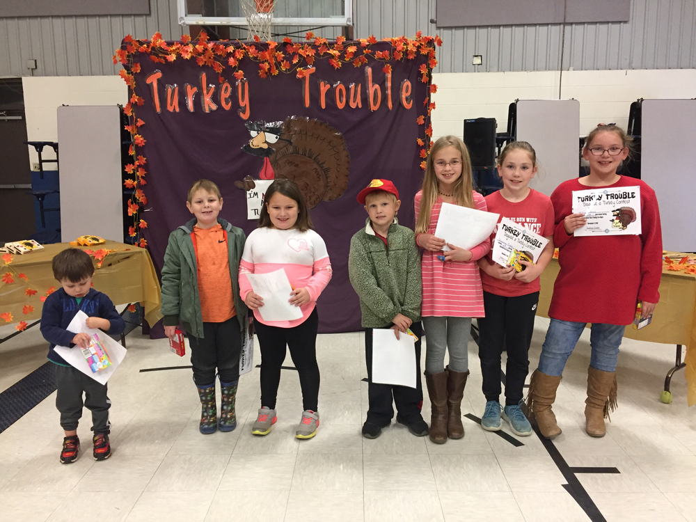 turkey disguise 2nd place winners