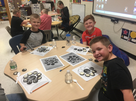 Second Grade uses Oreos to learn about the Phases of the Moon