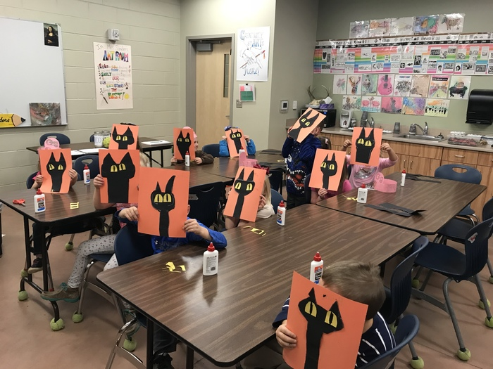Pete the Cat with kindergarten