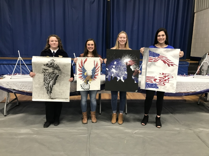Veterans Day Art Contest Winners!