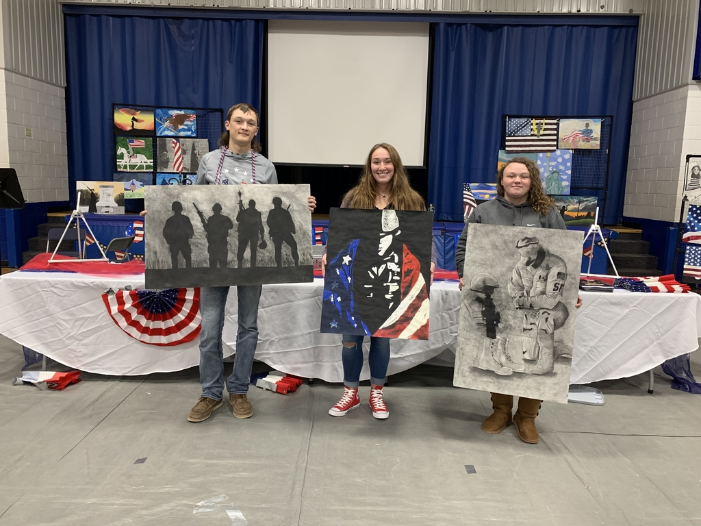 High School Veterans Art Winners