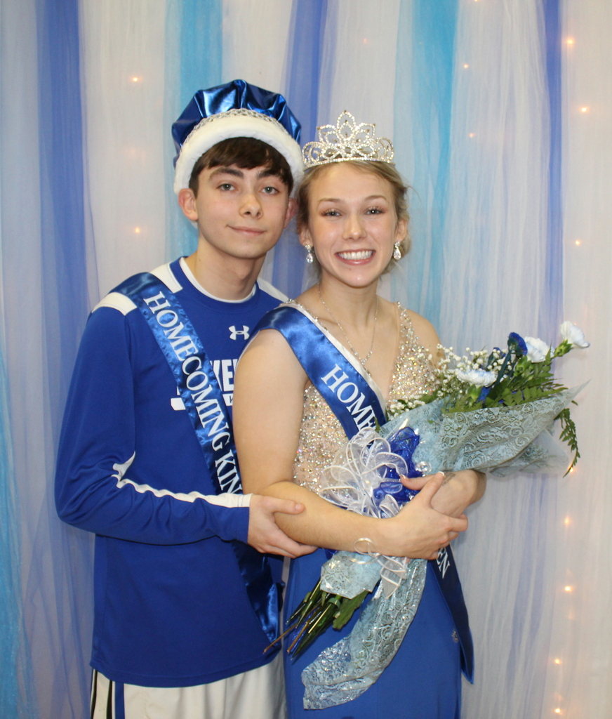 King Evan Ryan and Queen Andrea Yount