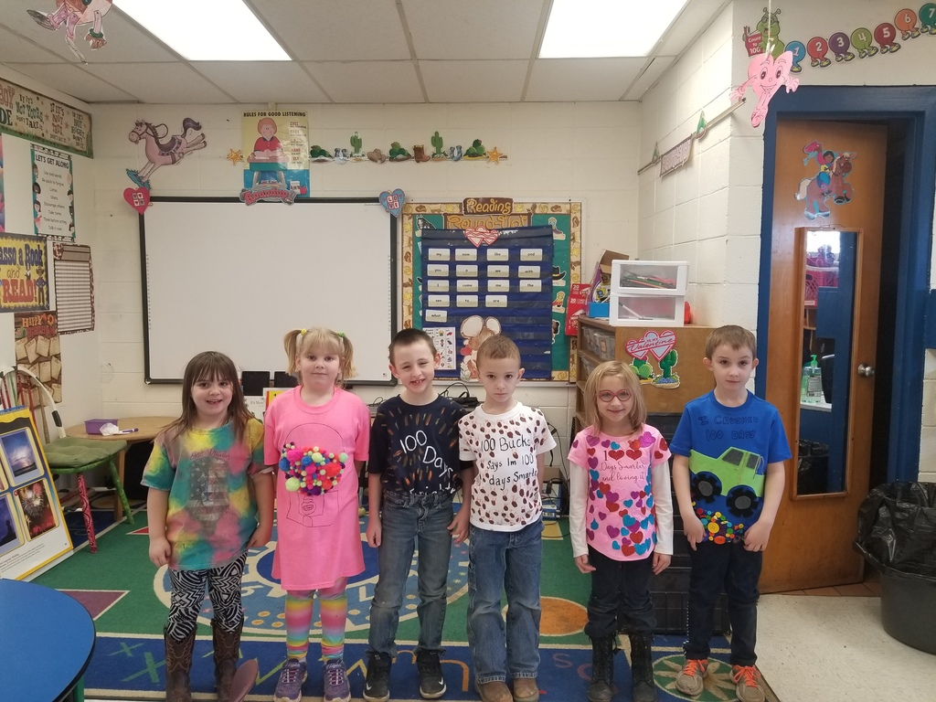 Kindergarten 100th Day T-Shirt Participants