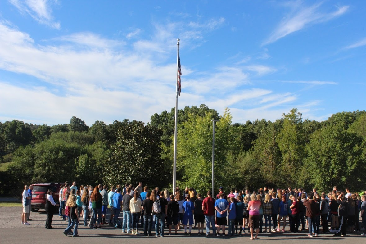 Students Honor our Country with NHS